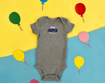 Custom Baby Romper  Embroidered Infant Romper Set with baby's name