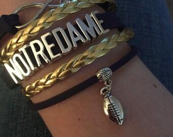 Notredame Infinity Bracelet