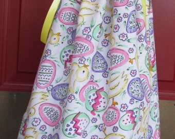 Easter Egg Dress, Easter Dress, Size 18 to 24 month Dress, Ready to Ship Dress