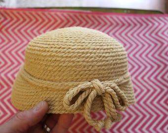 Ivory Vintage Hat