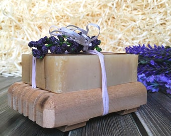 Lavender Gift set Small Gift set Vegan Soap gift set Natural soap Homemade Soap Bar Moisturizing Soap dish Office gifts