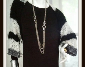 SWEATER WOMAN KNITTED Shrug One Of A Kind