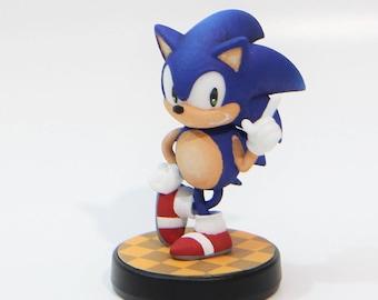 Custom Amiibo - Classic Sonic Pose Sonic Mania Nintendo Switch