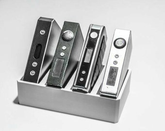 Vape box mod holder or display,3 variations,many colors available,free shipping
