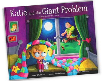 Katie and the Giant Problem ~ Signed Children's Book ~ Gift-Boxed ~ Bedtime Story ~ Picture Book ~ Kids Book