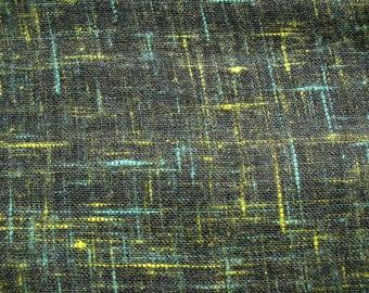 Green Rayon Slub Gauze Scarf Fabric by the Yard
