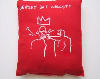Home decorJersey Joe Walcott Basquiat art boxing gift love sport art gift birthday anniversary graduation unisex gift pop art graffiti gift