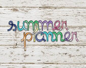 Summer Planner Alphas #1