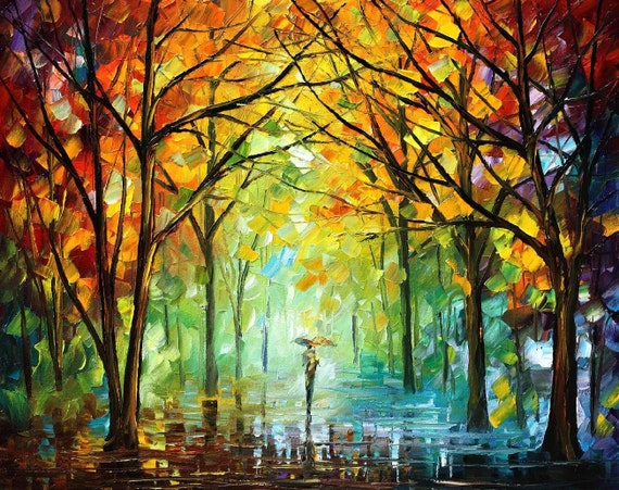 Famous Nature Paintings Scenery Wall Art On Canvas By Leonid