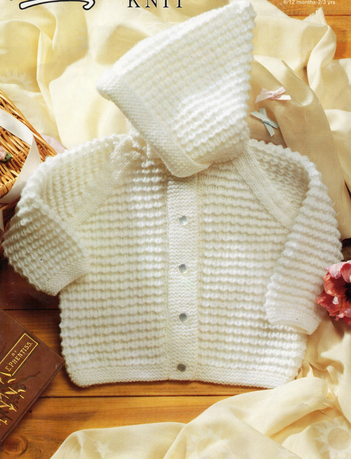 Baby Knitting Pattern baby hooded jacket baby hooded cardigan baby ...