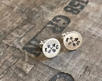 Kansas City Earrings Sterling Silver Stud Earrings KC Royals