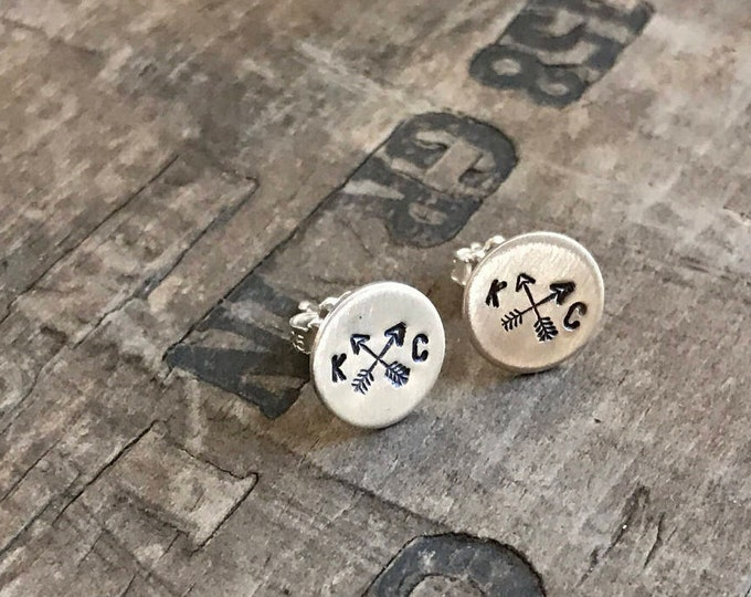Kansas City Earrings Sterling Silver Stud Earrings KC Royals