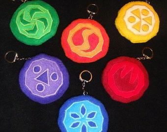 Zelda Sage Medallion Plush keychain