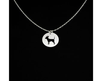 Chihuahua Necklace - Chihuahua Jewelry - Chihuahua Gift - Dog Necklace