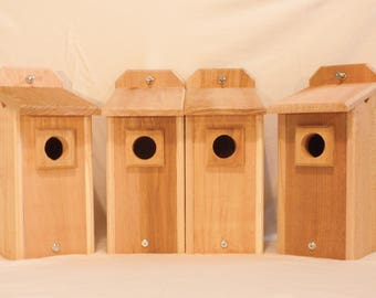4 Bluebird Houses Bird House