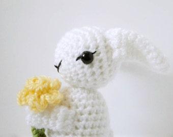 Amigurumi Bunny Pattern - Crochet Rabbit - Easter