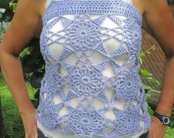 mothers day, crochet hook size 40/42 purple tank top t-shirt, mothers day gift