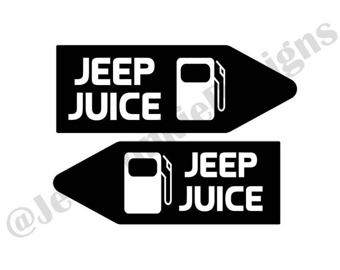 Jeep Juice Vinyl Decal