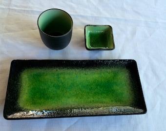 Sushi Plate,Sushi Platter,Artisian Sushi,Glazed Sushi,Pottery Sushi,Sushi Serving,Glazed Sushi,Ceramic Sushi,Sushi GIft,Ceramic Sushi Plate