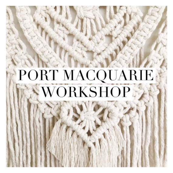 Port Macquarie Wall Hanging Workshop - June 15th or 16th