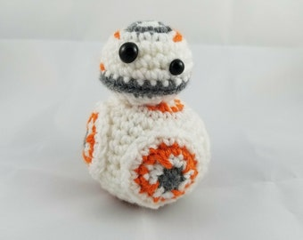 Crochet Amigurumi Star Wars - BB8