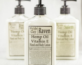 Wylde Ivy Guy Men's Hemp Oil and Vitamin E Lotion Your Choice of Scent 8 Ounces