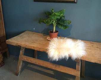 Beautiful old wooden Butcher table