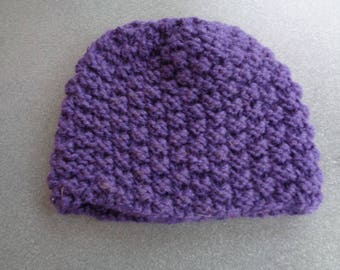 Acrylic hand knitted Hat