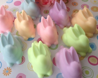 Easter Bunny Soap - Easter Soap - Kids Soap - Easter Basket Filler - Easter Gift - Bunny Favor - Pastel Soap - Spring Soap