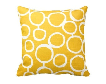 7 Sizes Available: Decorative Pillow Throw Pillow Yellow Pillow Yellow Home Decor Sofa Pillow Yellow Throw Pillow Euro Pillow