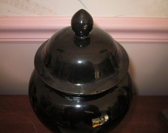 Hager Pottery Lidded Urn.... Rare