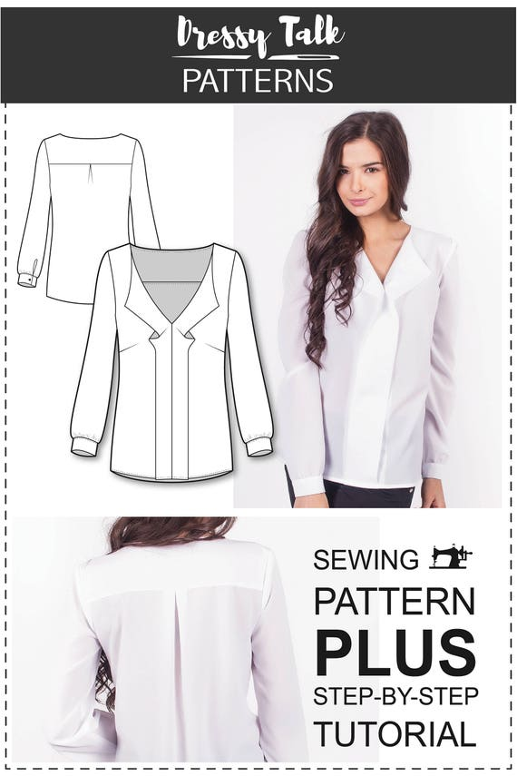 Top Patterns Blouse Patterns Blouse Sewing Patterns