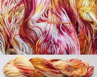 Some Like It Hot | Hand Dyed Yarn | Speckle Yarn | Fingering Weight | Shawl Yarn | Sock Yarn | Aran Yarn