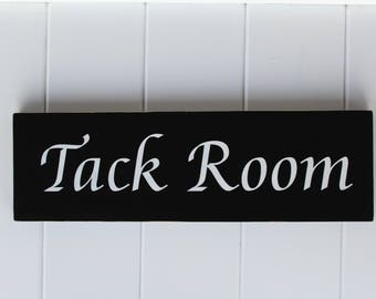 Tack Room Sign/Barn Stall Sign/Horse Stable Decor/Horse Stall Sign/Horsey Gift/Custom Barn Sign/Stall Sign/Stable Sign/Farmstead Sign