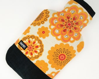 Upcycling - Hot waterbottle cover vintage terry cloth