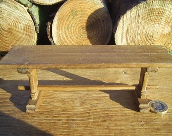 1/12th scale miniature medieval/tudor trestle refectory table