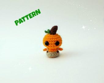 Amigurumi Pumpkin Doll Pattern, Amigurumi Doll Pattern, Crochet Doll Pattern, Amigurumi Patterns, Crochet Pattern, Crochet Amigurumi Pattern