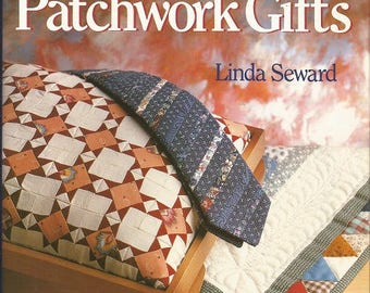 "Vintage ""Beautiful patchwork Gifts"" Book by Linda Seward"