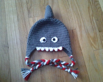 Crochet Shark Hat