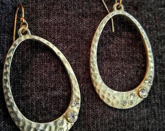 Vintage Faux Gold Earrings