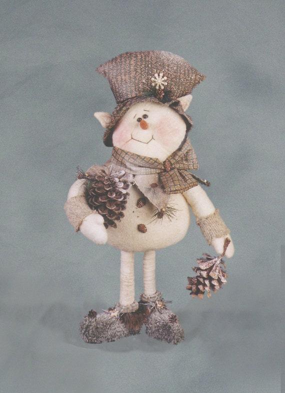 "Pattern: Snocone - 12"" Snowman Elf"