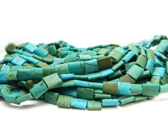 Afghanistan Turquoise Beads Hand Cut Natural Turquoise Beads Afghani Turquoise Tribal