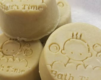 Baby Oatmeal Soap, mild, unscented