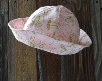Child Pink Swirl Bucket Hat