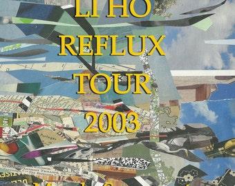 Li Ho Reflux Tour 2003: A Poem