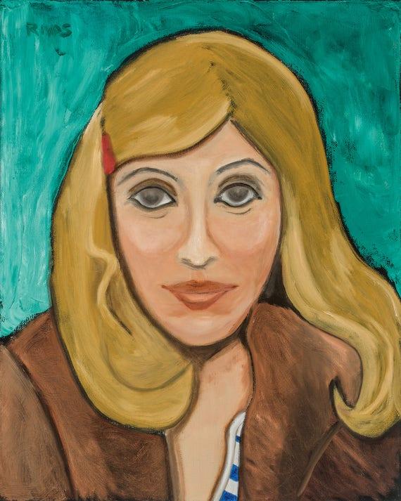 Portrait of C.D. as Margot Tenenbaum--8x10 Hand-Numbered Print