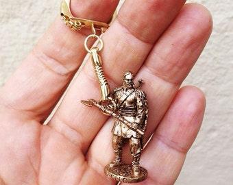 Bronze keychain viking ROLLO
