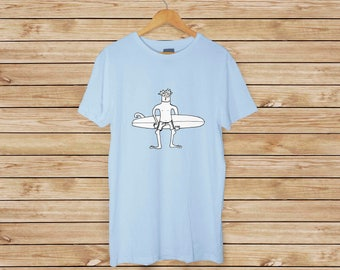 Surfer Dweeb T-shirt - Youth and Adult Sizes Available - Grom Surf T-shirt