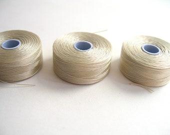 C - lon thread size D dark cream