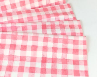 Painted Gingham Bloom Color ~ Sommer Collection by Sarah Jane for Michael Miller Fabrics